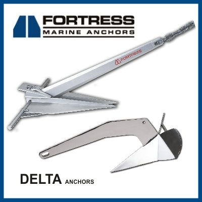Fortress Delta Anchors Marine