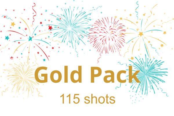 Πυροτεχνήματα Gold Pack