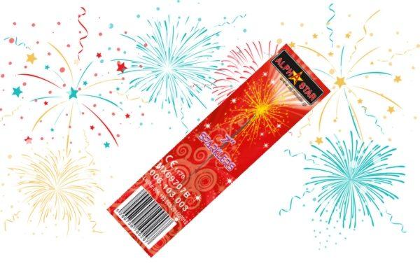 Sticks παγωτού Sparklers 7″