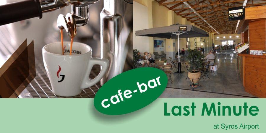 Espresso Last Minute…