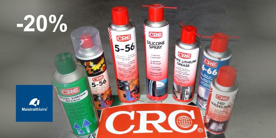 20% έκπτωση στα προϊόντα CRC
