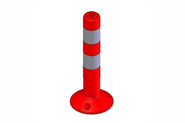 Πλαστικό κολωνάκι Σήμανσης  45cm ή 75cm