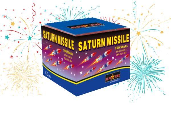 Πυροτέχνημα Σφυρίχτρες Saturn Missile (100 βολές)
