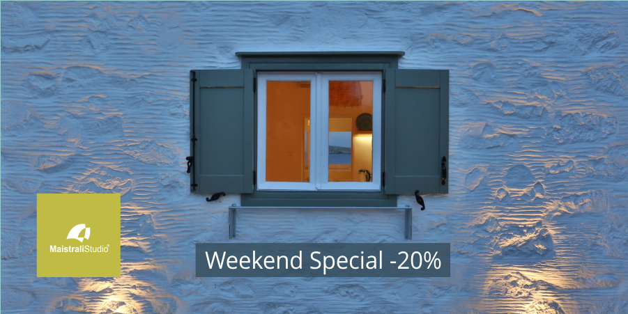 Weekend-Special -20% για τα Studio μας