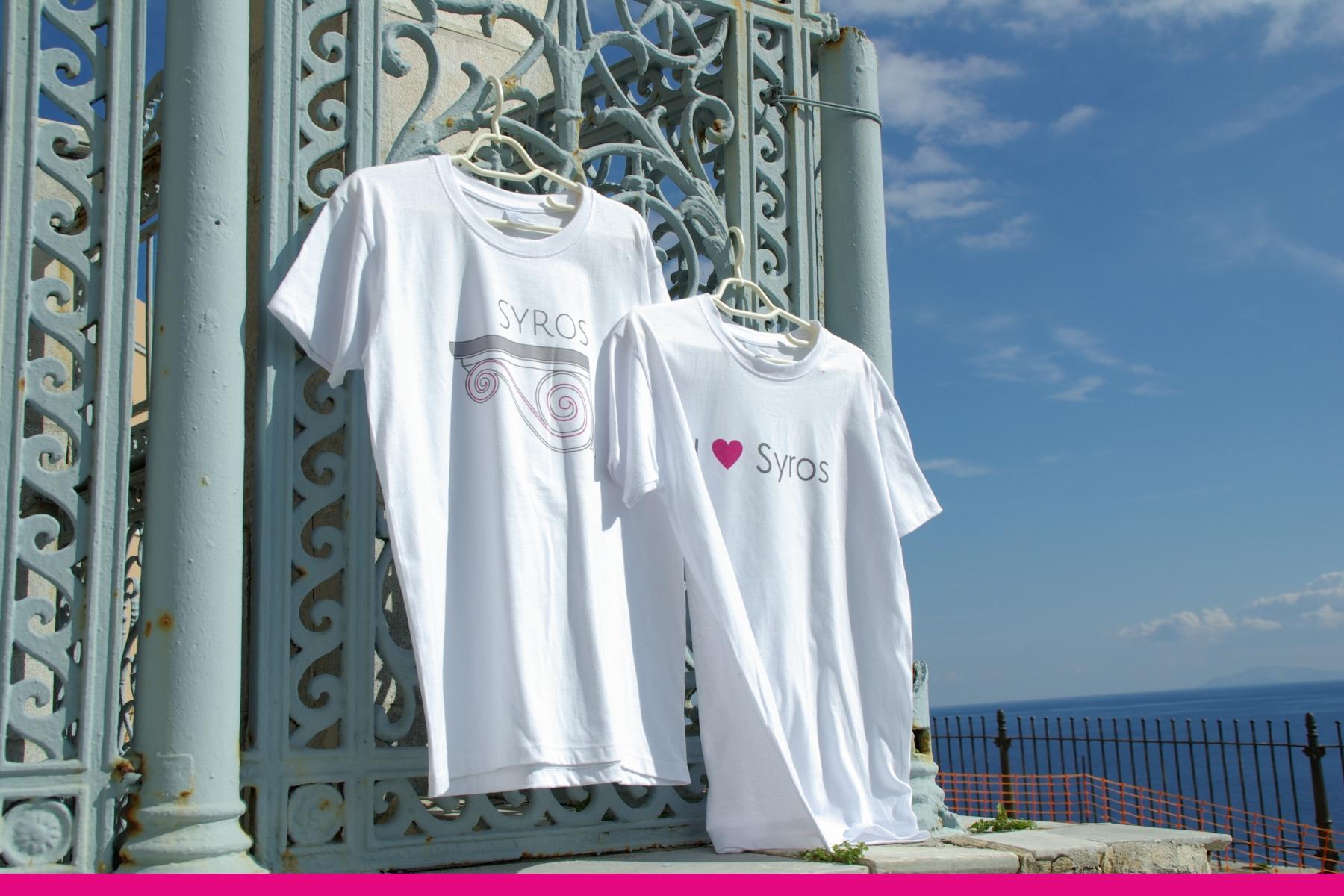 T-Shirts Syros