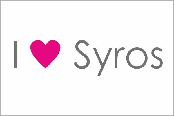 I love Syros