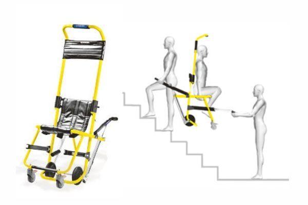 Καρέκλα Εκκένωσης και Μεταφοράς