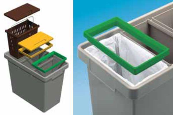Πλαστικός Κάδος Ανακύκλωσης POLYMAX
