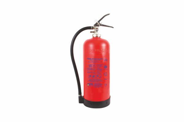 Πυροσβεστήρας Ξηράς Σκόνης 6Kg με δοχείο από Kevlar