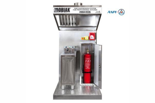 """Σύστημα κατάσβεσης ABF Wet Chemical """"ΜΟΒΙΑΚ DIAS""""®"""